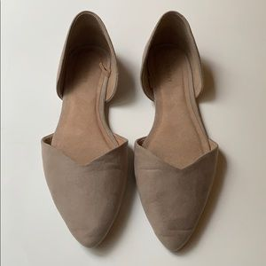 Old Navy Pointy Toe D'Orsay Flats